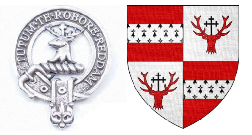 Crawford Clan badge and tartan