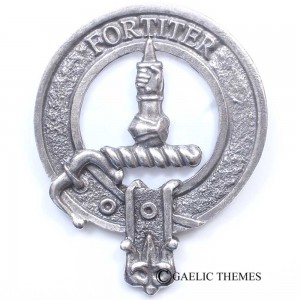 MacAlister Clan Crest