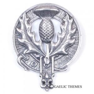 Scottish Thistle Clan Crest